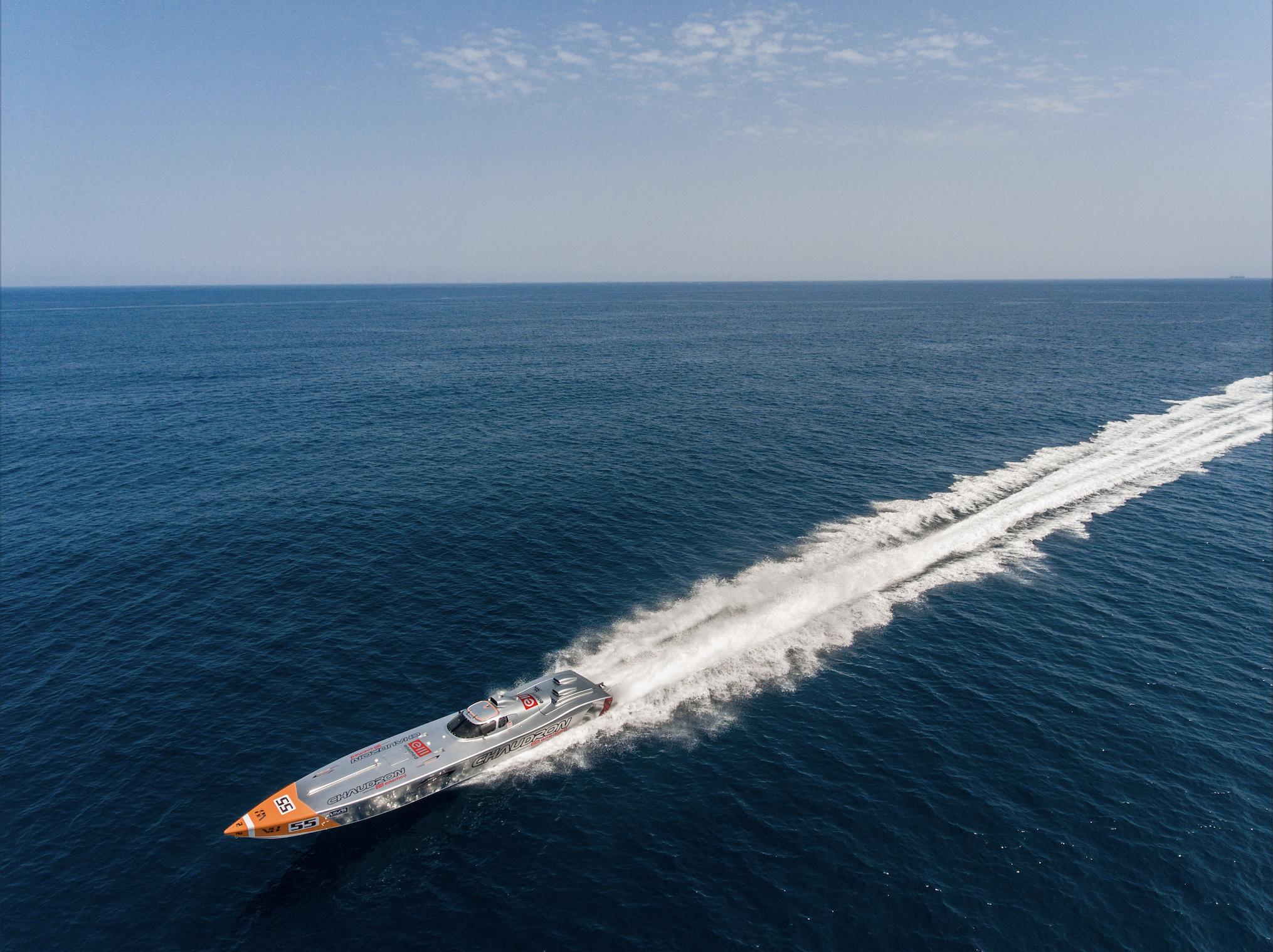 马耳他世界汽艇冠军挑战环航马耳他世界纪录