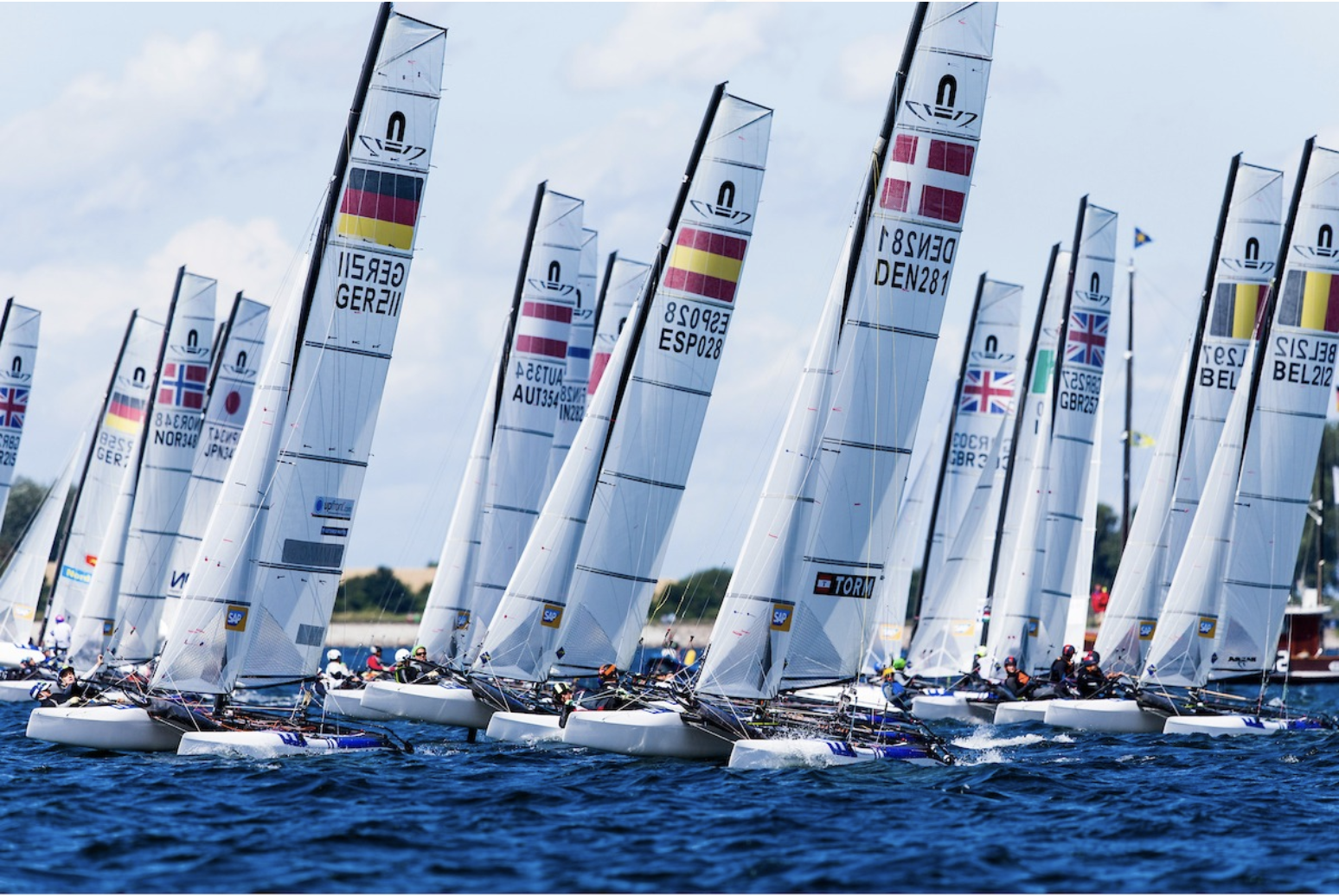 ICARUS SPORTS AND 49ER OLYMPIC SAILING TEAM UP FOR EUROPEAN CHAMPIONSHIP