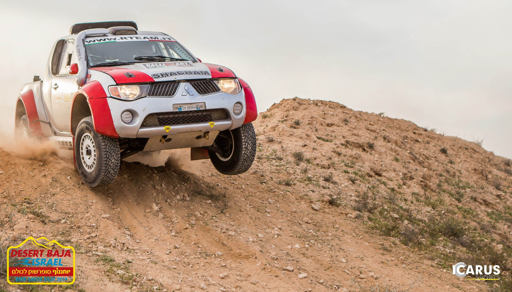 ICARUS SPORTS LAUNCHES PARTNERSHIP WITH DESERT BAJA ISRAEL