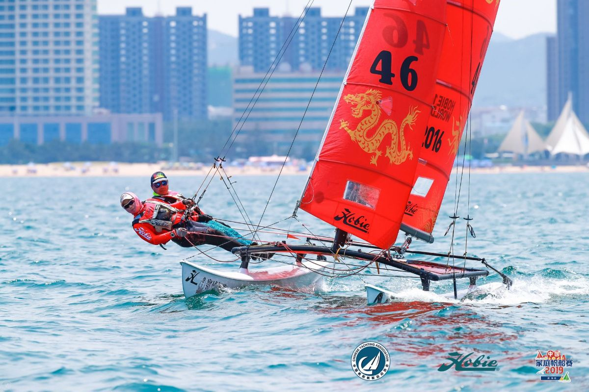 ICARUS SPORTS Partners with Weihai for 2019 Hobie 16 Asian Championships
