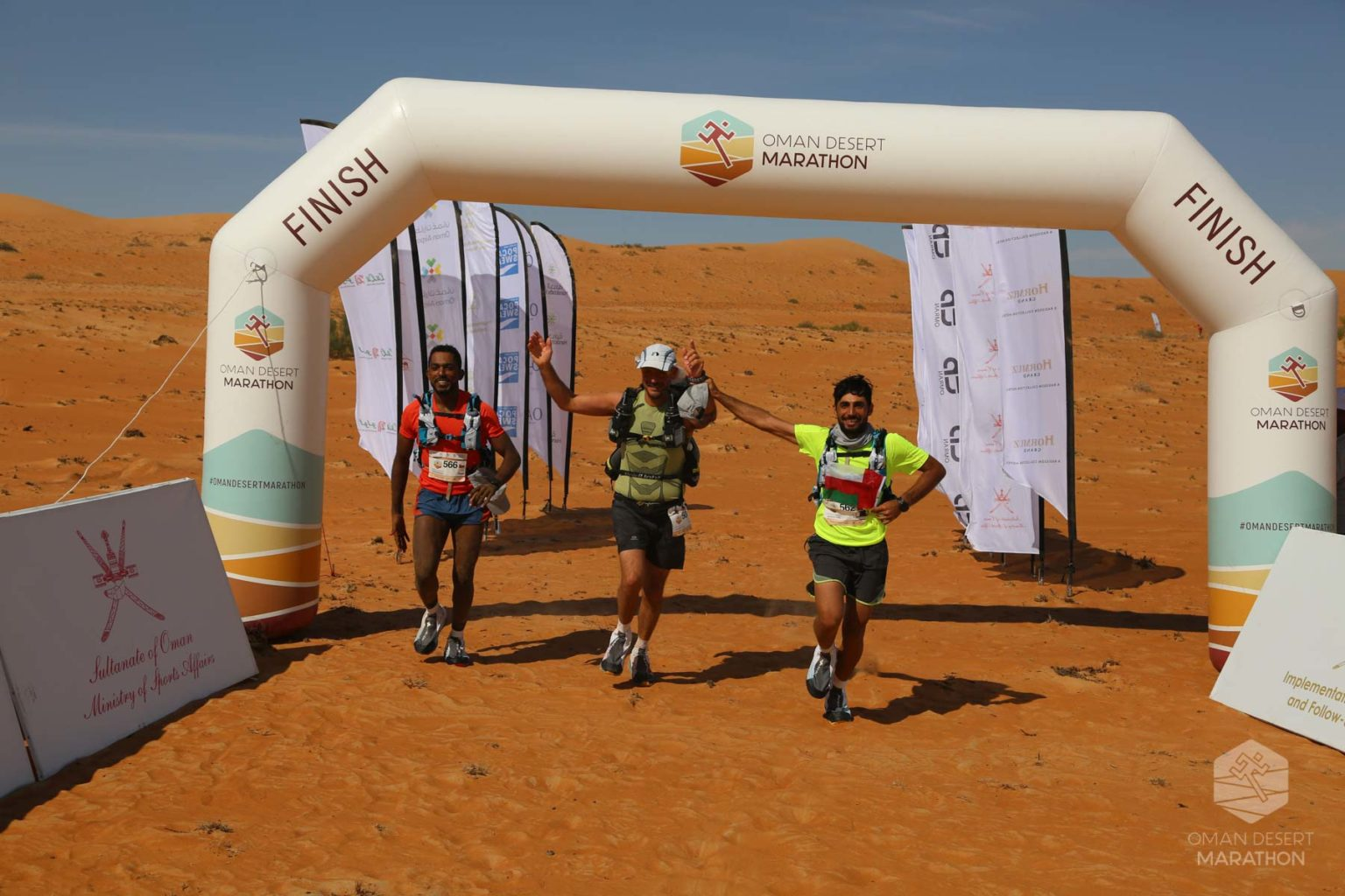 ICARUS Sports Partners with Oman Desert Marathon