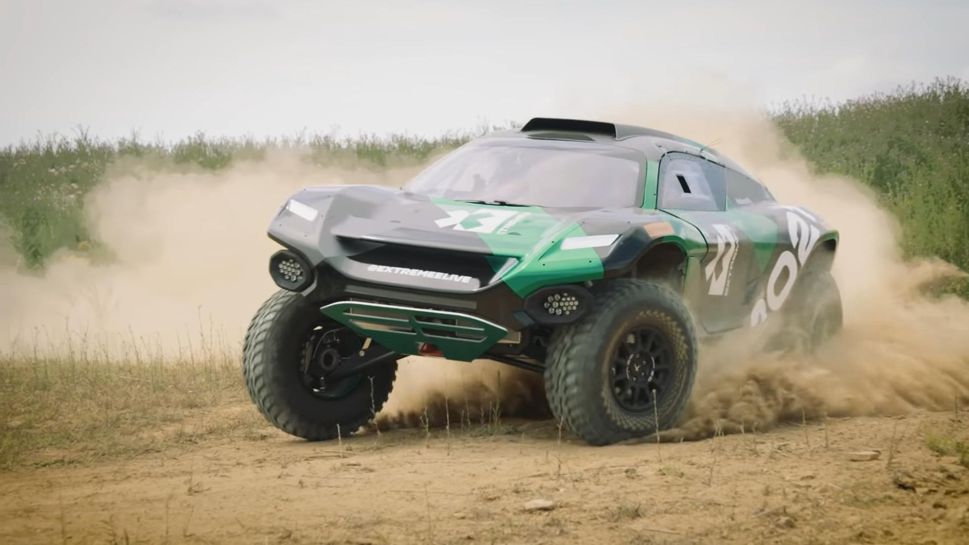 一场颠覆性的越野电动车赛事 唤醒世界的环境保护意识