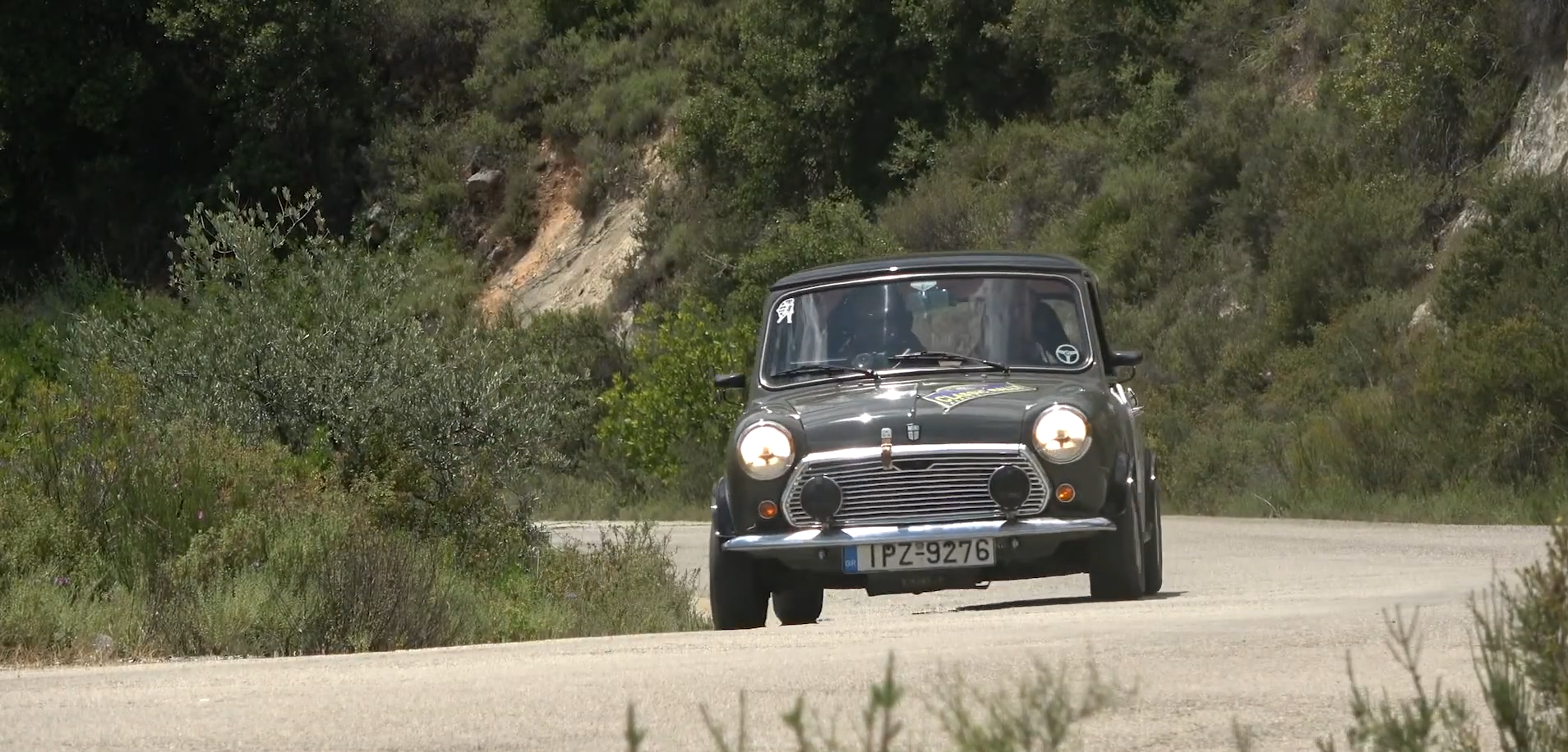 Back in the driver's seat with the Classic Rally 'Acropolis Legends'!