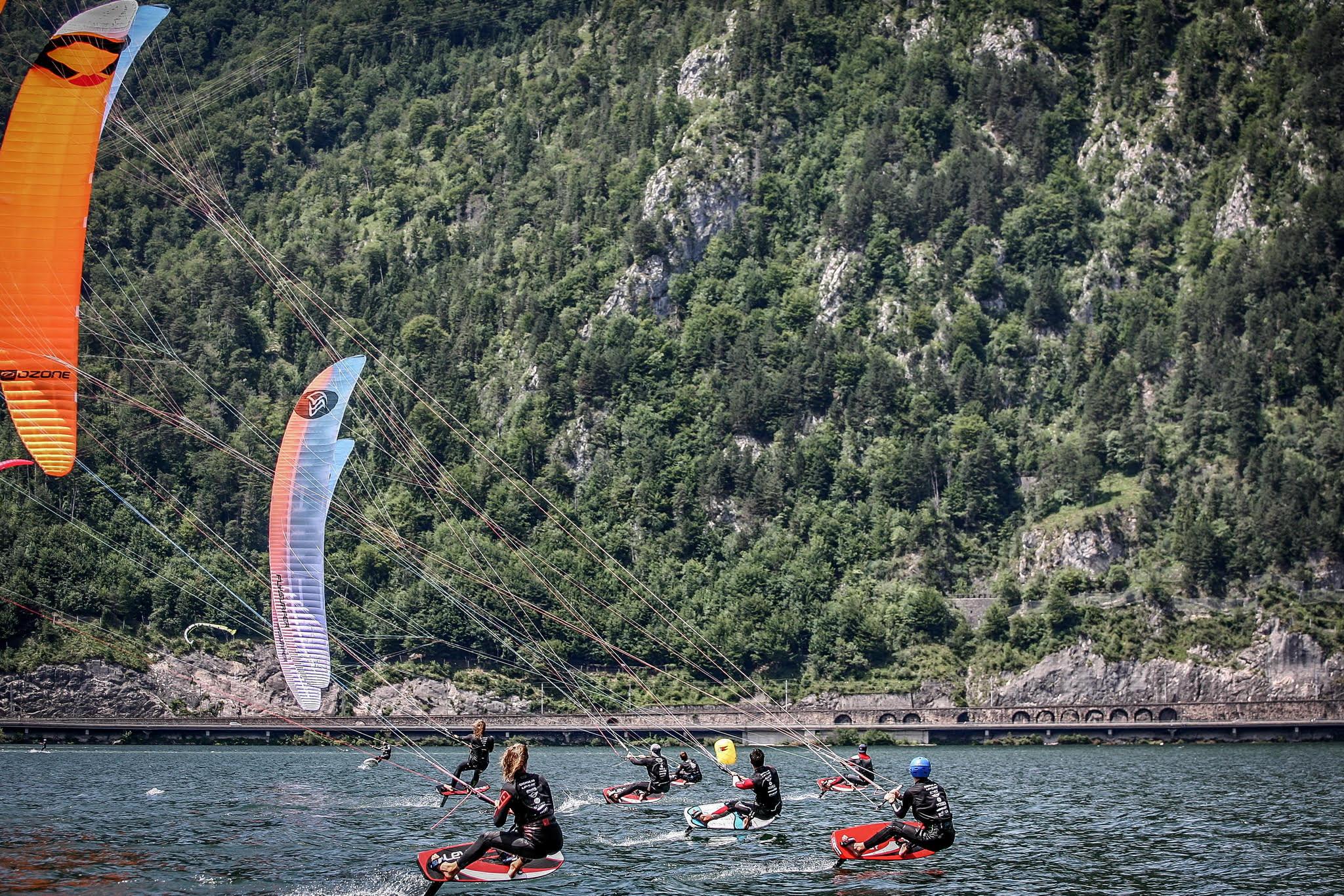 Austria hosts KiteFoil European Championship