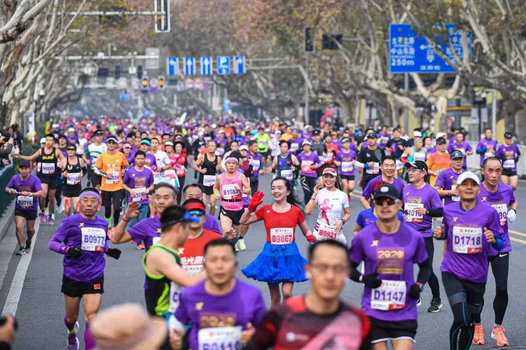 ICARUS Sports Runs Alongside The 2020 Nanjing Marathon
