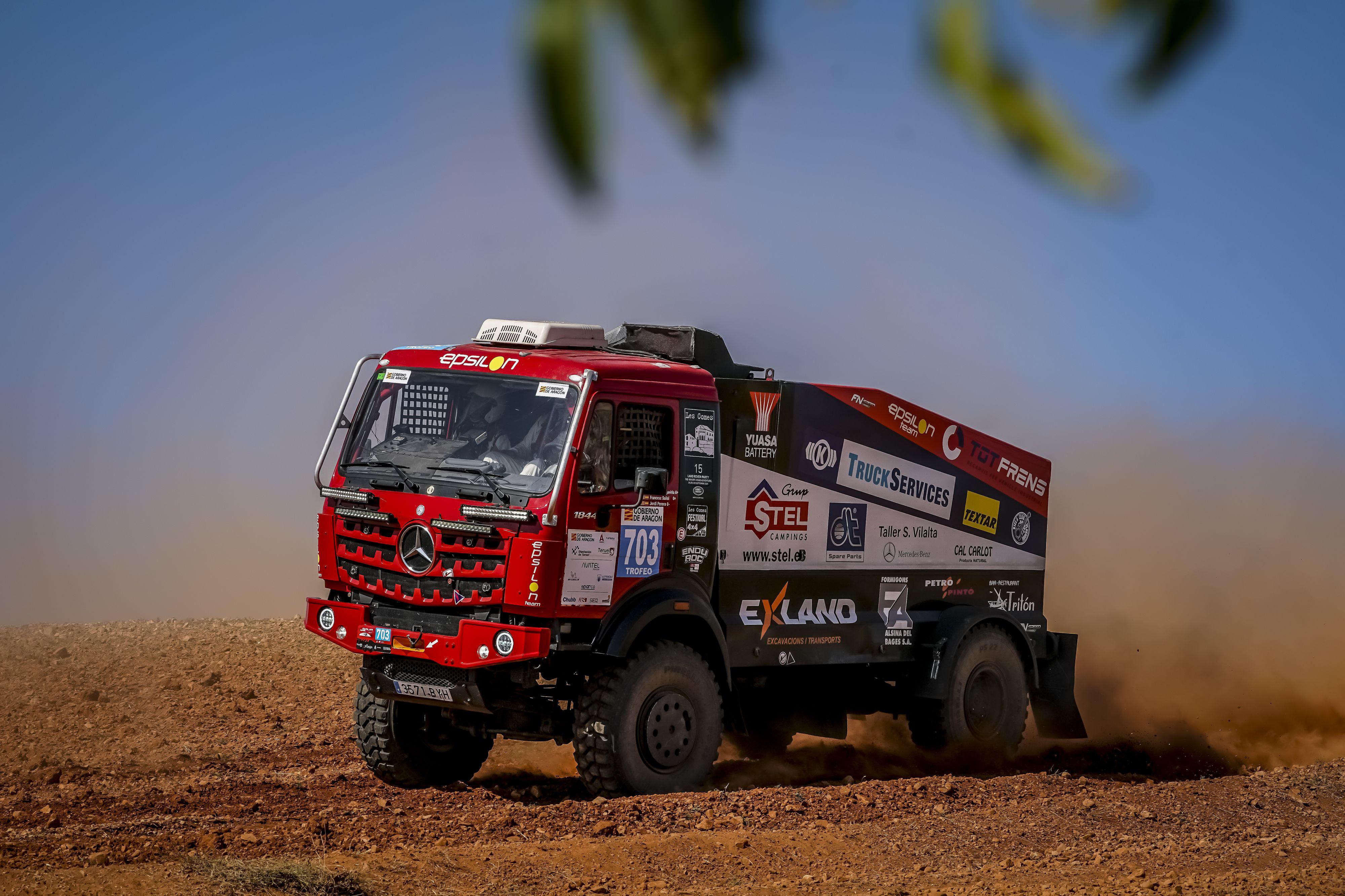 Fasten Your Seatbelts for the Baja España Aragón