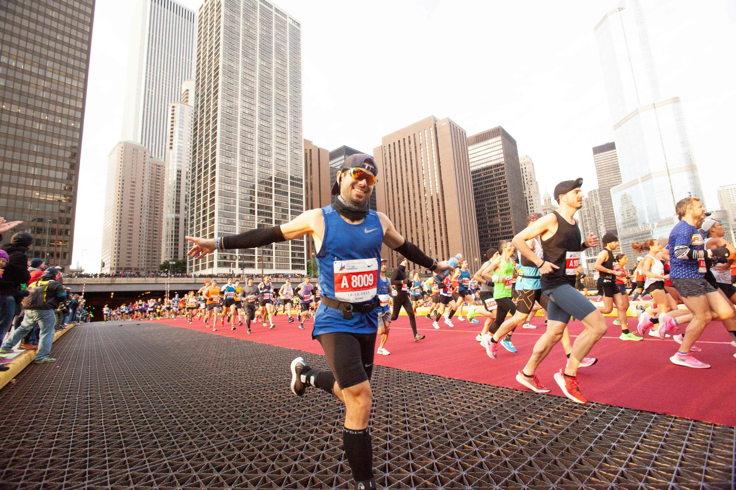 ICARUS Sports Puts On Its Running Shoes For The Chicago Marathon